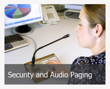 Security and Audio Paging